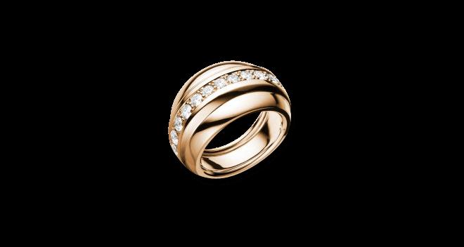 Ring Chopard La Strada aus 750 Roségold mit mehreren Brillanten (1 Karat)