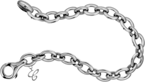 Armband Chopard Les Chaines aus 750 Weißgold