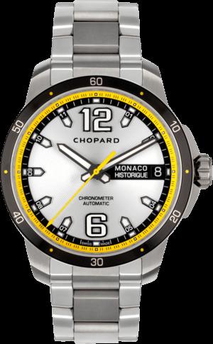 Herrenuhr Chopard G.P.M.H. Automatic mit grauem Zifferblatt und Edelstahlarmband