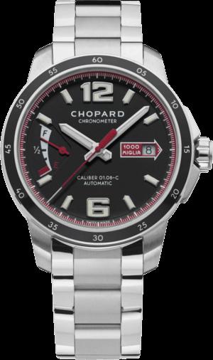 Herrenuhr Chopard Mille Miglia GTS Power Control mit schwarzem Zifferblatt und Edelstahlarmband