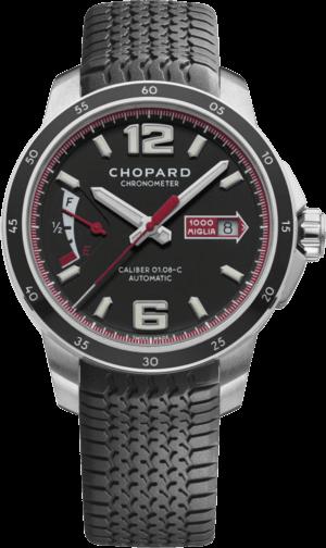 Herrenuhr Chopard Mille Miglia GTS Power Control mit schwarzem Zifferblatt und Kautschukarmband