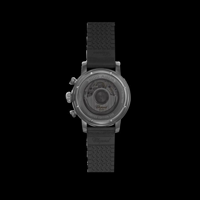 Herrenuhr Chopard Mille Miglia Race Edition COSC, Limited Edition mit schwarzem Zifferblatt und Kalbsleder-Armband bei Brogle