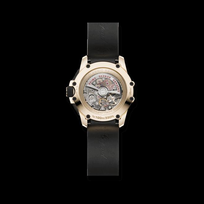 Herrenuhr Chopard Superfast Chronograph mit schwarzem Zifferblatt und Kautschukarmband