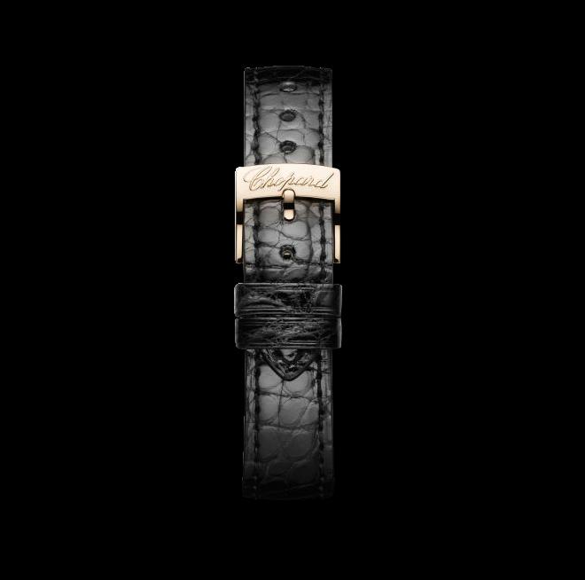 Damenuhr Chopard Classic Automatik mit perlmuttfarbenem Zifferblatt und Alligatorenleder-Armband bei Brogle