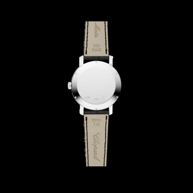 Herrenuhr Chopard Classic Automatik mit weißem Zifferblatt und Alligatorenleder-Armband bei Brogle
