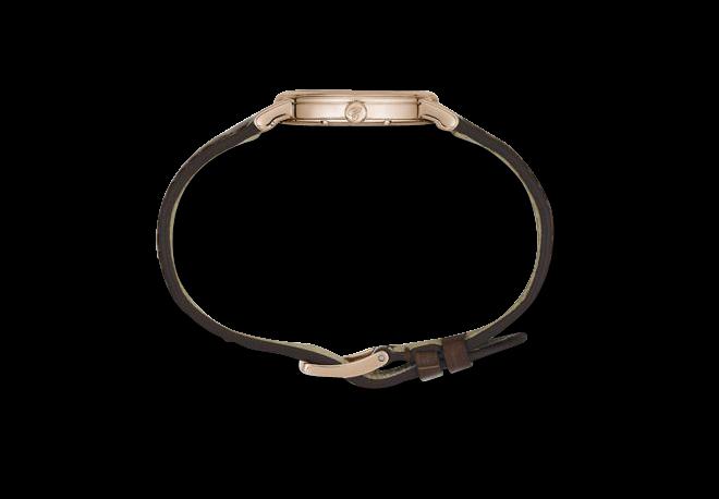 Damenuhr Chopard Classic Quarz mit Diamanten, weißem Zifferblatt und Alligatorenleder-Armband bei Brogle