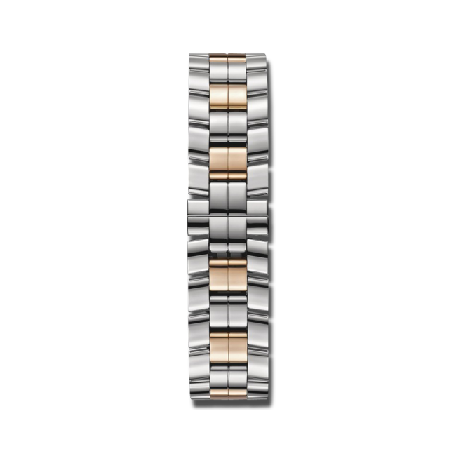 Damenuhr Chopard Happy Sport Automatik mit Diamanten, silberfarbenem Zifferblatt und Edelstahlarmband bei Brogle
