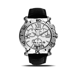 Chopard Damenuhr Happy Sport Chrono Quarz 288499-3001