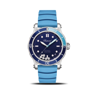 Chopard Damenuhr Happy Ocean Automatik 278587-3001