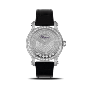 Chopard Damenuhr Happy Sport Medium Automatik 274891-1001