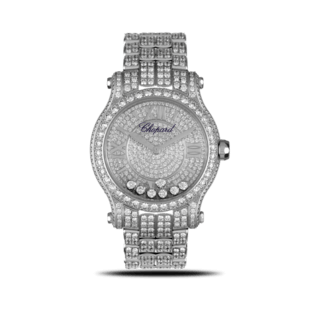 Chopard Damenuhr Happy Sport Medium Automatik 274891-1002