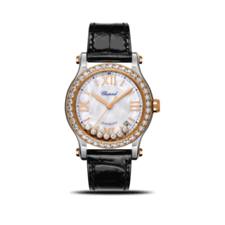 Chopard Damenuhr Happy Sport Medium Automatik 278559-6006
