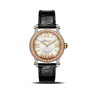 Chopard Damenuhr Happy Sport Medium Automatik 36mm 278573-6003
