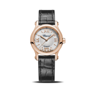 Chopard Damenuhr Happy Sport Mini Automatik 274893-5001