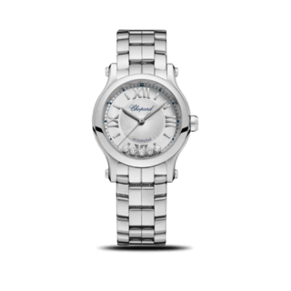 Chopard Damenuhr Happy Sport Mini Automatik 278573-3002