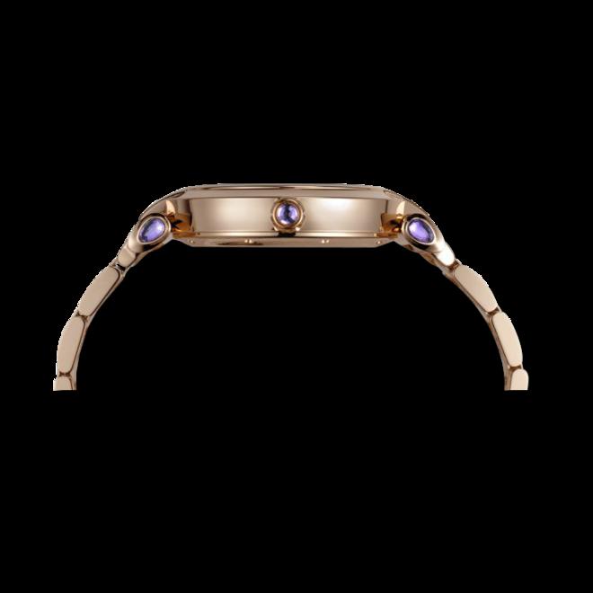 Damenuhr Chopard Imperiale Automatik mit perlmuttfarbenem Zifferblatt und Roségoldarmband bei Brogle