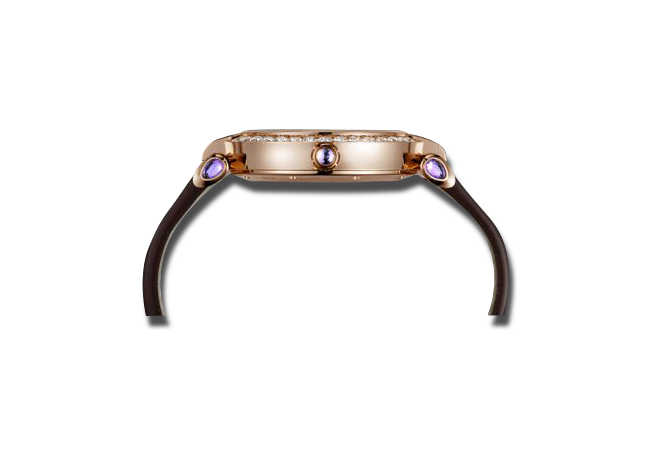 Damenuhr Chopard Imperiale Automatik mit Diamanten, weißem Zifferblatt und Krokodilleder-Armband bei Brogle