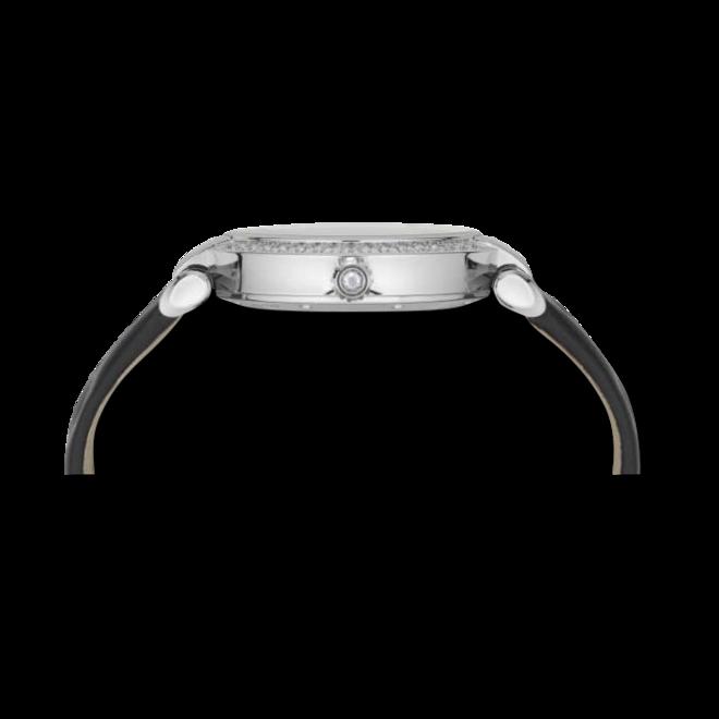 Damenuhr Chopard Imperiale Automatik mit Diamanten, schwarzem Zifferblatt und Kalbsleder-Armband bei Brogle