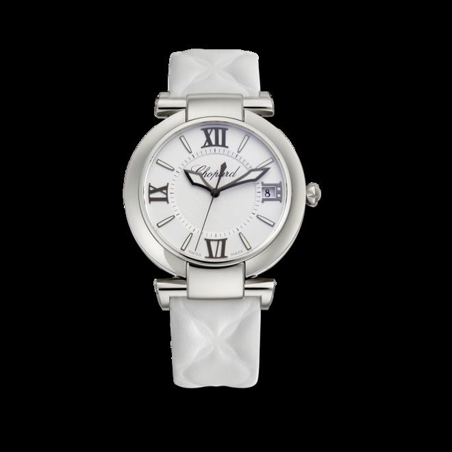 Damenuhr Chopard Imperiale Automatik mit weißem Zifferblatt und Kalbsleder-Armband bei Brogle