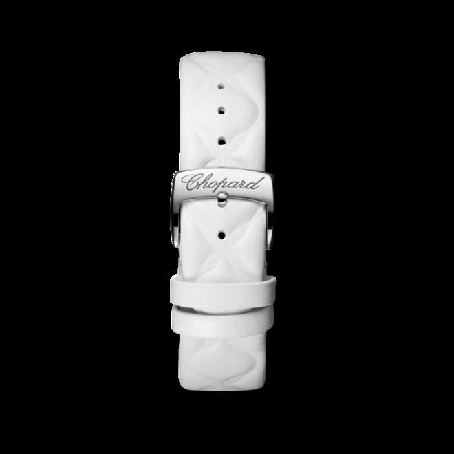Damenuhr Chopard Imperiale Automatik mit perlmuttfarbenem Zifferblatt und Kalbsleder-Armband bei Brogle