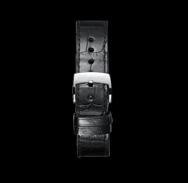 Damenuhr Chopard Imperiale Automatik mit silberfarbenem Zifferblatt und Alligatorenleder-Armband bei Brogle