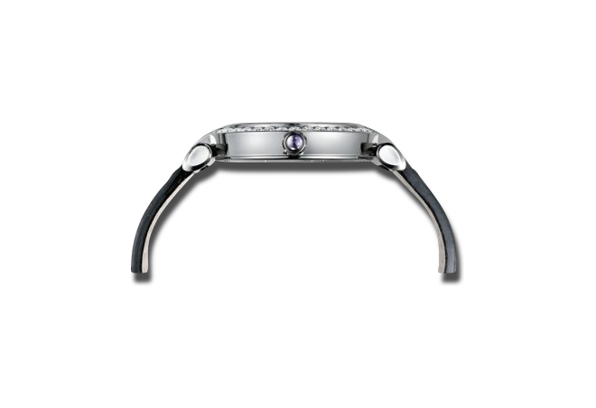 Damenuhr Chopard Imperiale Automatik mit Diamanten, weißem Zifferblatt und Alligatorenleder-Armband bei Brogle
