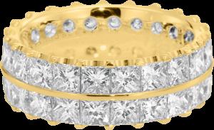 Memoirering Christian Bauer aus 750 Gelbgold mit 44 Diamanten (7,22 Karat)