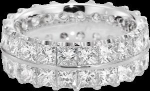 Memoirering Christian Bauer aus 750 Weißgold mit 44 Diamanten (7,22 Karat)