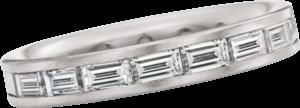 Memoirering Christian Bauer aus 750 Weißgold mit 18 Diamanten (1,95 Karat)