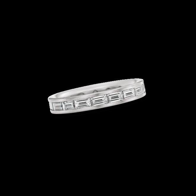 Memoirering Christian Bauer aus 950 Platin mit 18 Diamanten (1,95 Karat)