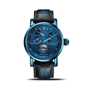 Chronoswiss Herrenuhr Regulator Classic Blue Steel CH-8776-BL/13-2