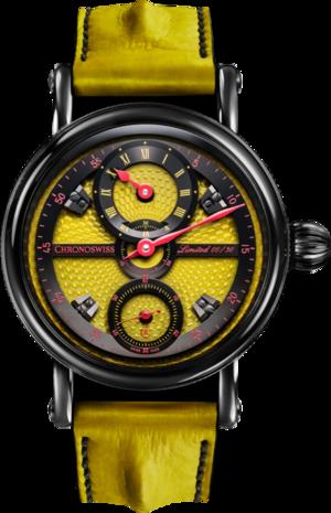 Herrenuhr Chronoswiss Flying Grand Regulator Limited Edition mit zweifarbigem Zifferblatt und Alligatorenleder-Armband