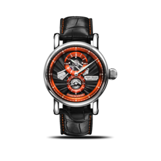 Chronoswiss Armbanduhr Flying Regulator Open Gear Anniversary Edition CH-8753-BKOR/11-2