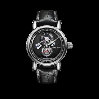 Chronoswiss Armbanduhr Flying Regulator Open Gear CH-8753-BKBK/11-2