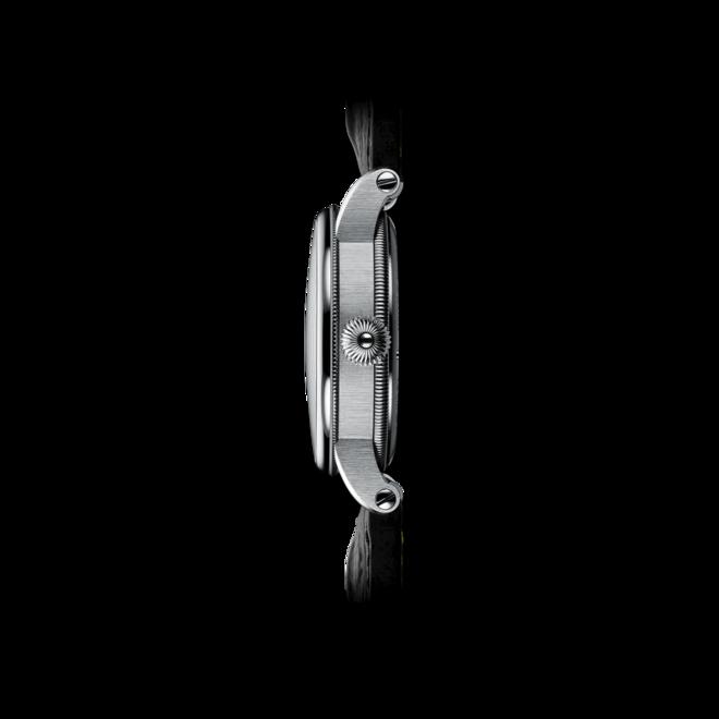 Armbanduhr Chronoswiss Flying Regulator Open Gear Limited Edition mit gelbem Zifferblatt und Alligatorenleder-Armband bei Brogle