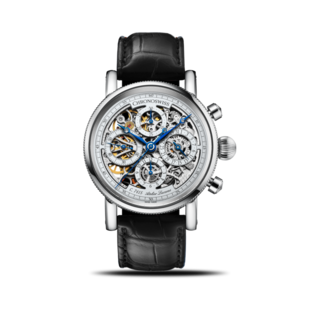 Chronoswiss Herrenuhr Opus Chronograph 41mm CH-7543.1S-SI/11-2