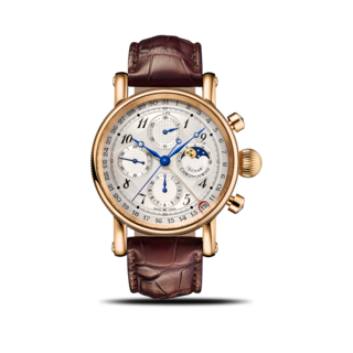 Chronoswiss Armbanduhr Sirius Lunar Chronograph 41mm CH-7541LR/12-1