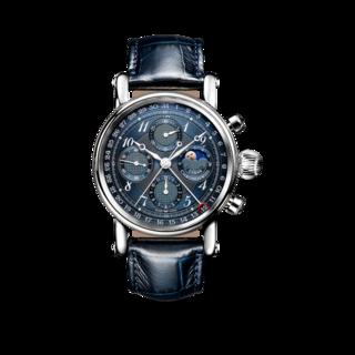 Chronoswiss Armbanduhr Sirius Lunar Chronograph 41mm CH-7543L-BL/13-2