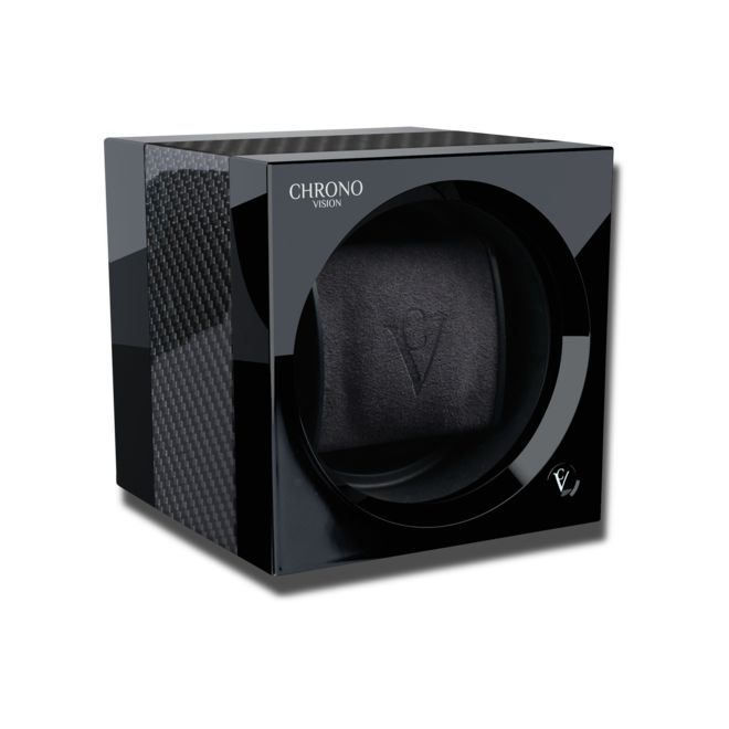 Uhrenbeweger Chronovision One Bluetooth aus Aluminium, Kunststoff und Carbon bei Brogle