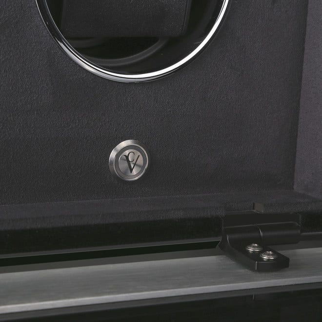 Uhrenbeweger Chronovision Ambiance III aus Holz/MDF, Aluminium und Carbon bei Brogle