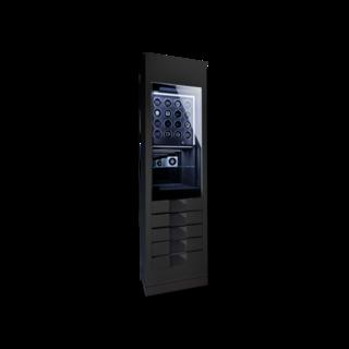 Chronovision Uhrenbeweger Momentum 16 - Schwarz Hochglanz / Karbon 70050-170.11.17