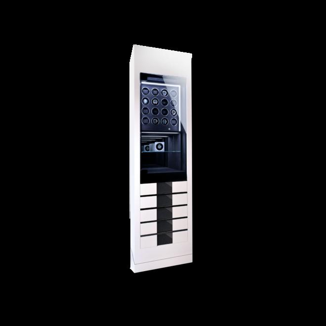 Uhrenbeweger Chronovision Momentum 16 - Weiß Hochglanz / Karbon aus Holz/MDF und Carbon bei Brogle