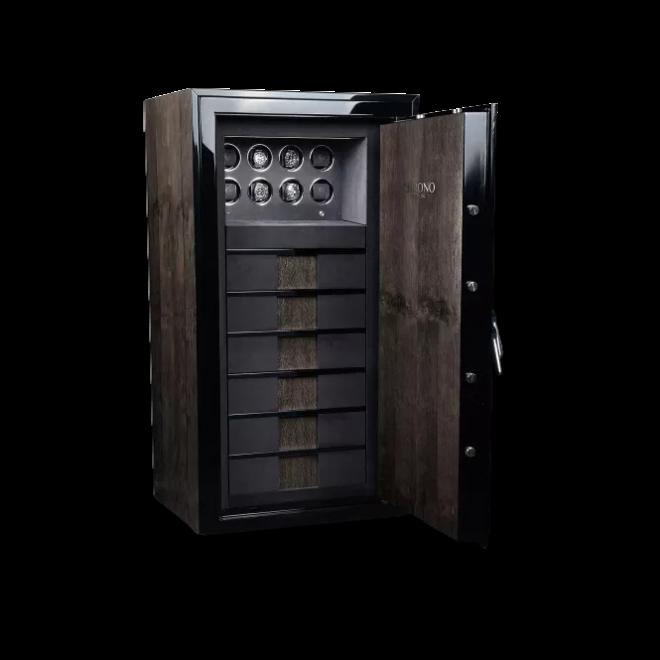 Uhrenbeweger Chronovision Tresor Guardian Majesty 8 - H3 aus Holz/MDF und Edelstahl bei Brogle