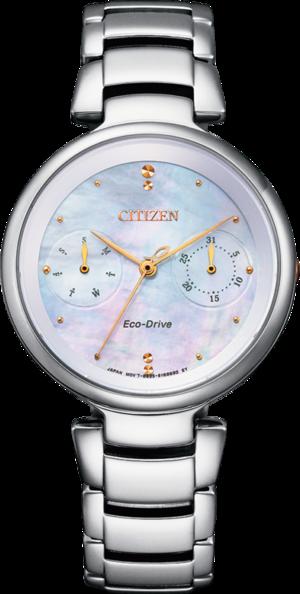 Damenuhr Citizen Basic Quarz 32,5mm mit perlmuttfarbenem Zifferblatt und Edelstahlarmband