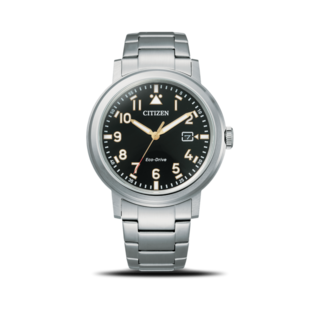 Citizen Herrenuhr Basic Quarz 42mm AW1620-81E