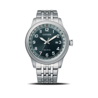 Citizen Herrenuhr Basic Quarz 43mm BM7480-81L