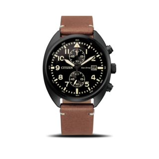 Citizen Herrenuhr Basic Quarz Chronograph 41mm CA7045-14E