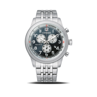 Citizen Herrenuhr Basic Quarz Chronograph 43mm AT2460-89L
