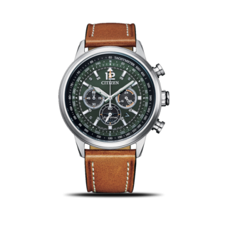 Citizen Herrenuhr Basic Quarz Chronograph 44mm CA4470-15X