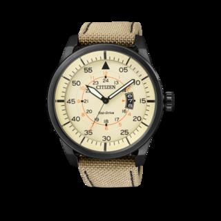 Citizen Herrenuhr Aviator AW1365-19P